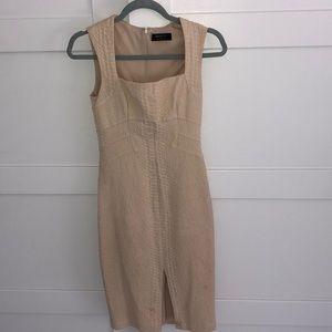 Bailey44 cream bodycon dress